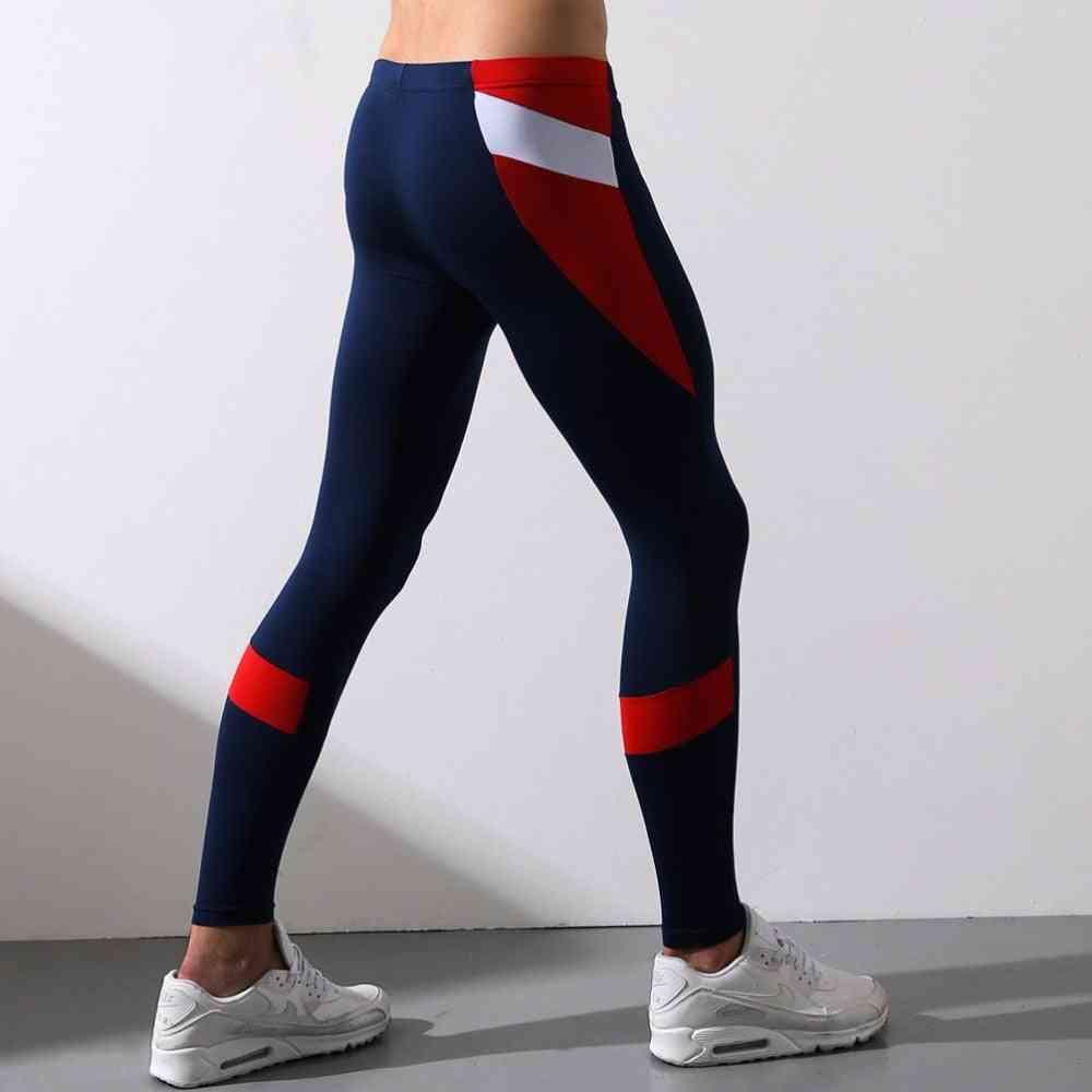 Men's Warm Long Johns Tight Legging, Sleep Trousers Pants