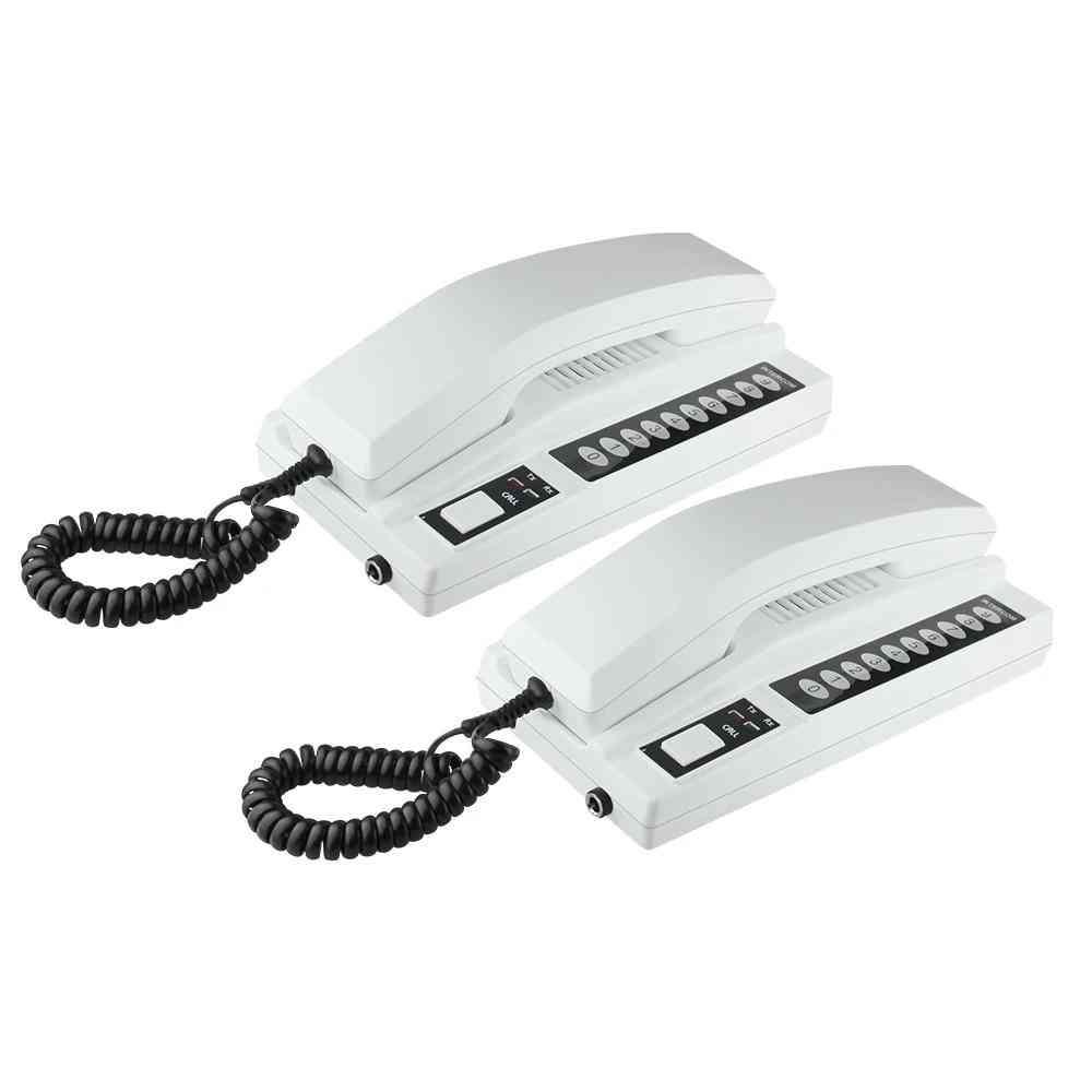 Wireless Intercom System Secure Interphone Handsets