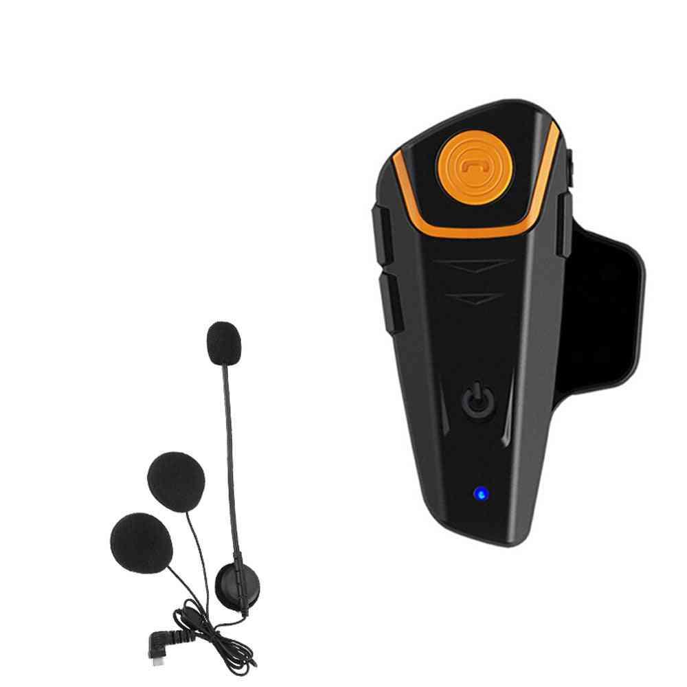 Waterproof Moto Helmet With Bluetooth Wireless