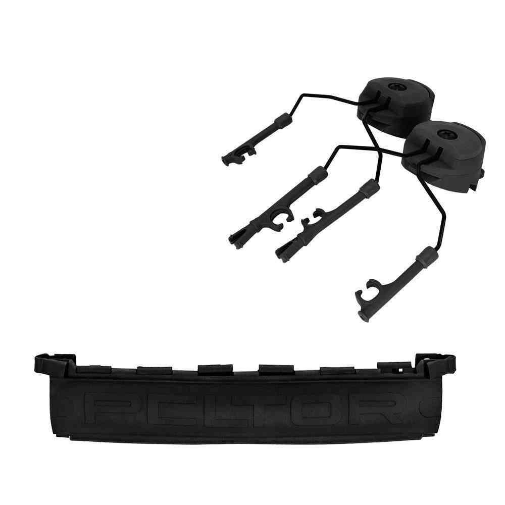 Ops Core Helmet Arc Track Tactical Comtac Stand And Detachable Tpe Peltor Headband