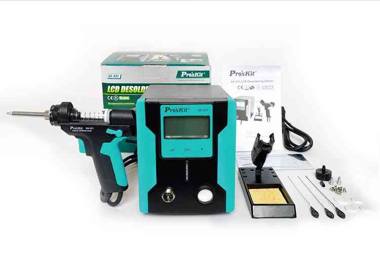 Ss-331h Lcd Electric Gun Anti-static High Power Strong Suction Desoldering Pump