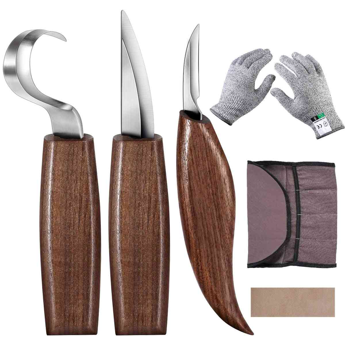 Chisel Woodworking Cutter Hand Tool Set
