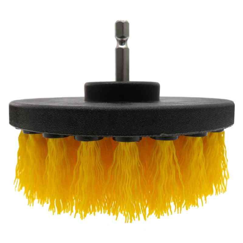4pcs Drill Brush Electric Scrubber Brush Set