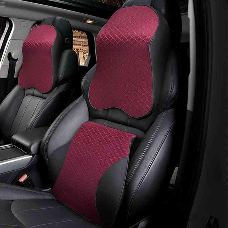 Memory Foam Cute Car Seat Headrest Pillow