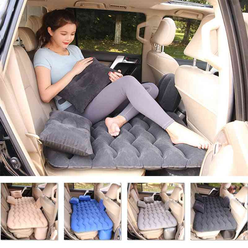 Portable Mattress Inflatable Sofa Car Travel Bed Inflatable Back Seat