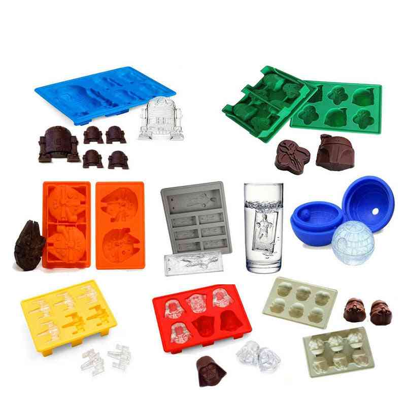 Ice Tray Silicone Mold Cube Chocolate For Home Kitchen