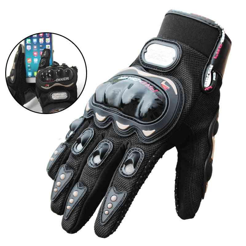 Biker Gloves Moto Motor Cross Full Finger, Motorcycle Glove Bicycle Cycling Waterproof