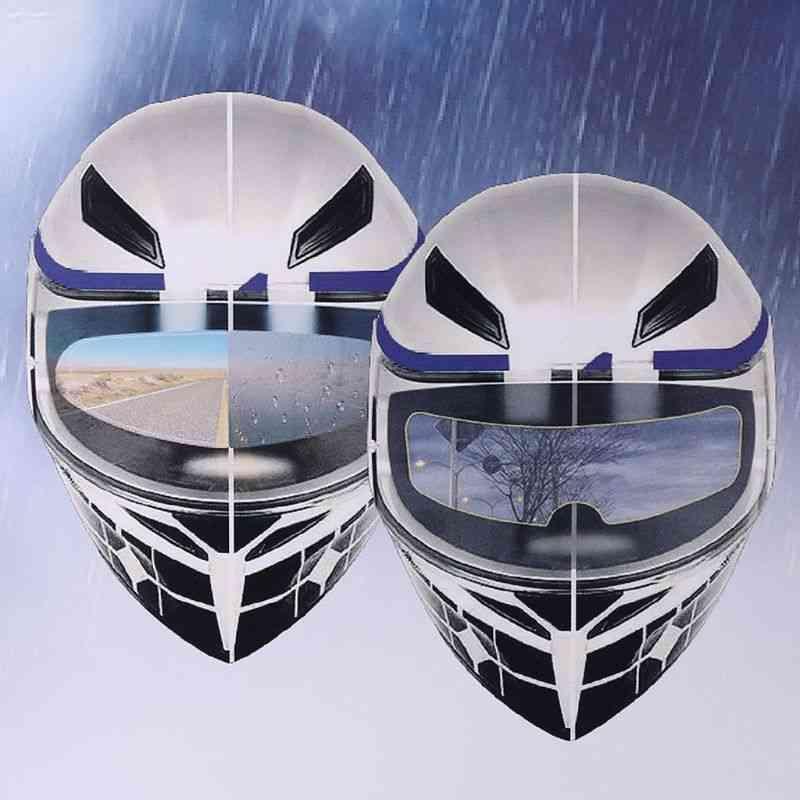 Motorcycle Helmet Clear Rainproof Film Anti Rain Patch Screen For K3 K4 Ax8 Ls2 Hjc Mt