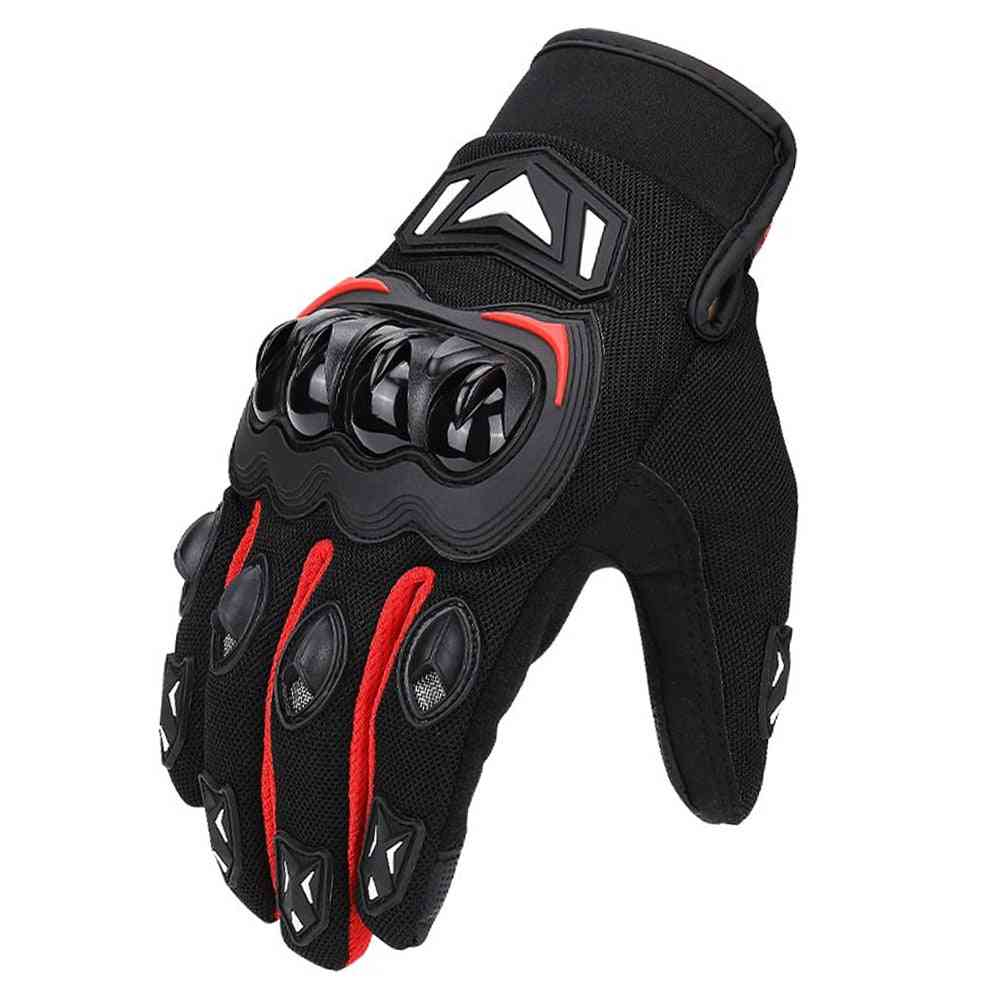 Motorcycle Gloves, Cycling Mountain Bike, Touch Screen Moto Gloves Men Spring/summer/winter