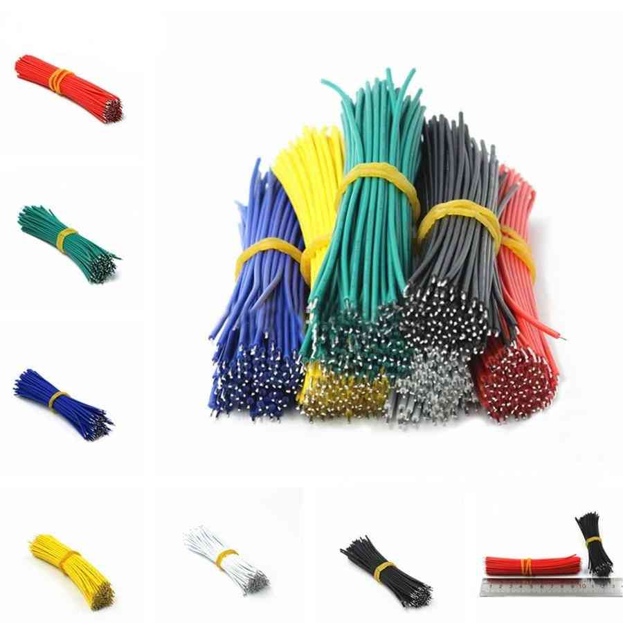 Tin-plated Breadboard Pcb Solder Cable, Fly Jumper Wire