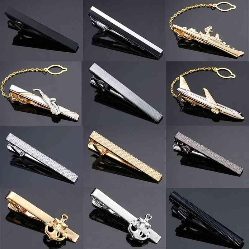 Laser Engraving Tie Clip, Men's Business Pin