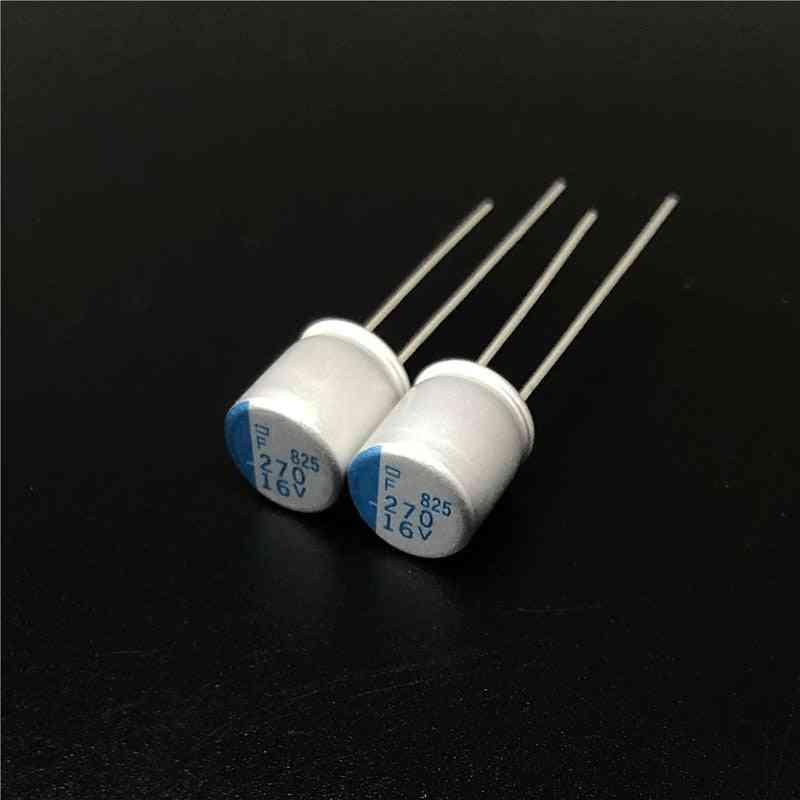 Ncc Psf Serires Super Low Esr 16v 270uf For Motherboard Vga Solid Capacitors