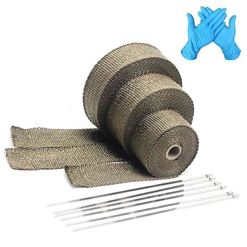 Exhaust Heat Wrap Roll For Motorcycle