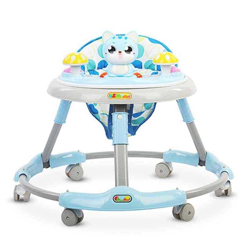Baby Musical Walker With Wheels  And Food Pad