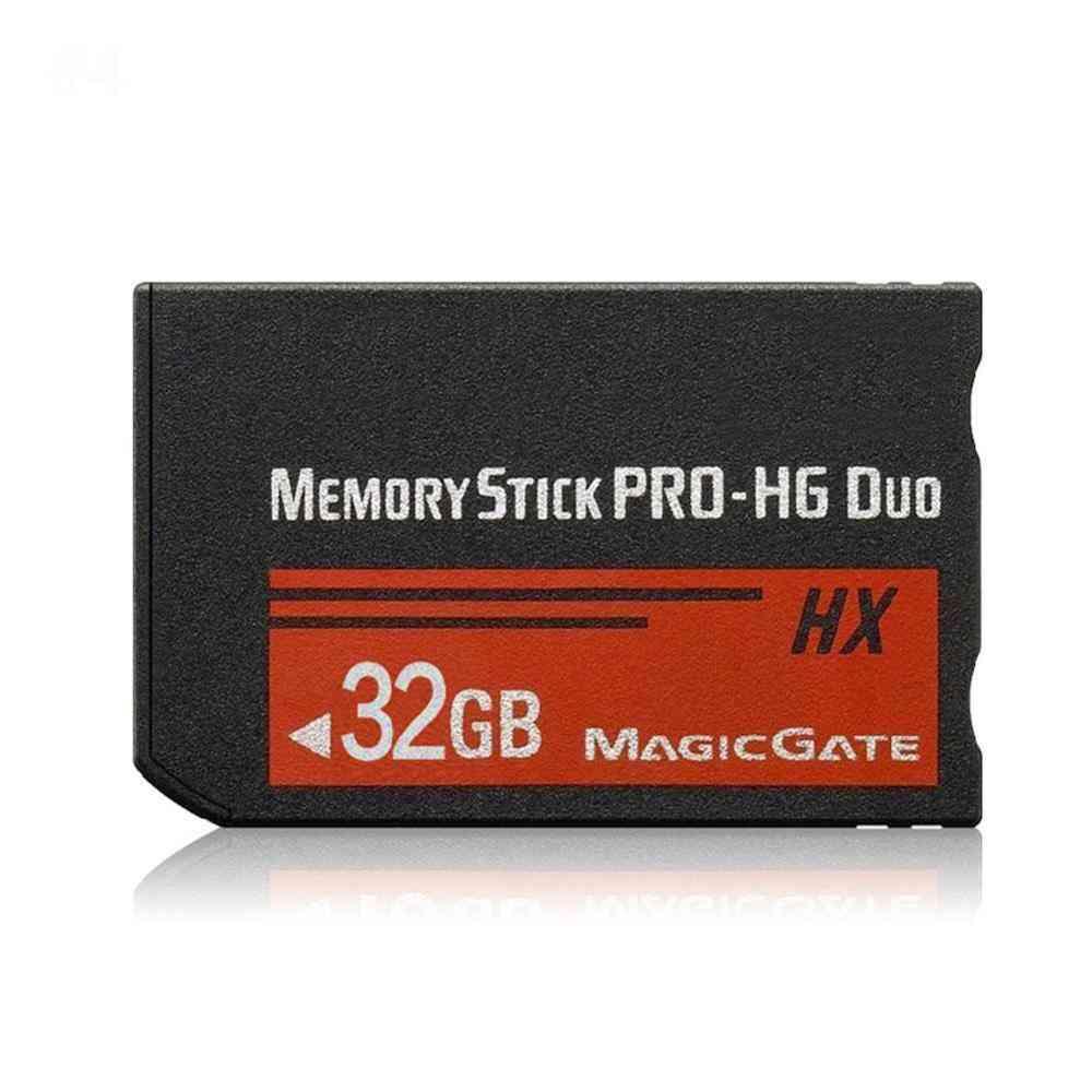 For Sony 4gb 8gb 16gb 32gb 64gb Psp 1000/2000/3000 Memory Stick Ms Pro Duo Memory Card