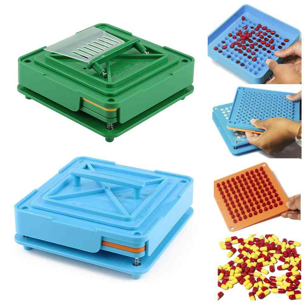 100 Holes Powder Pharmaceutical Manual Flare Food Grade Board Dispensers Encapsulator