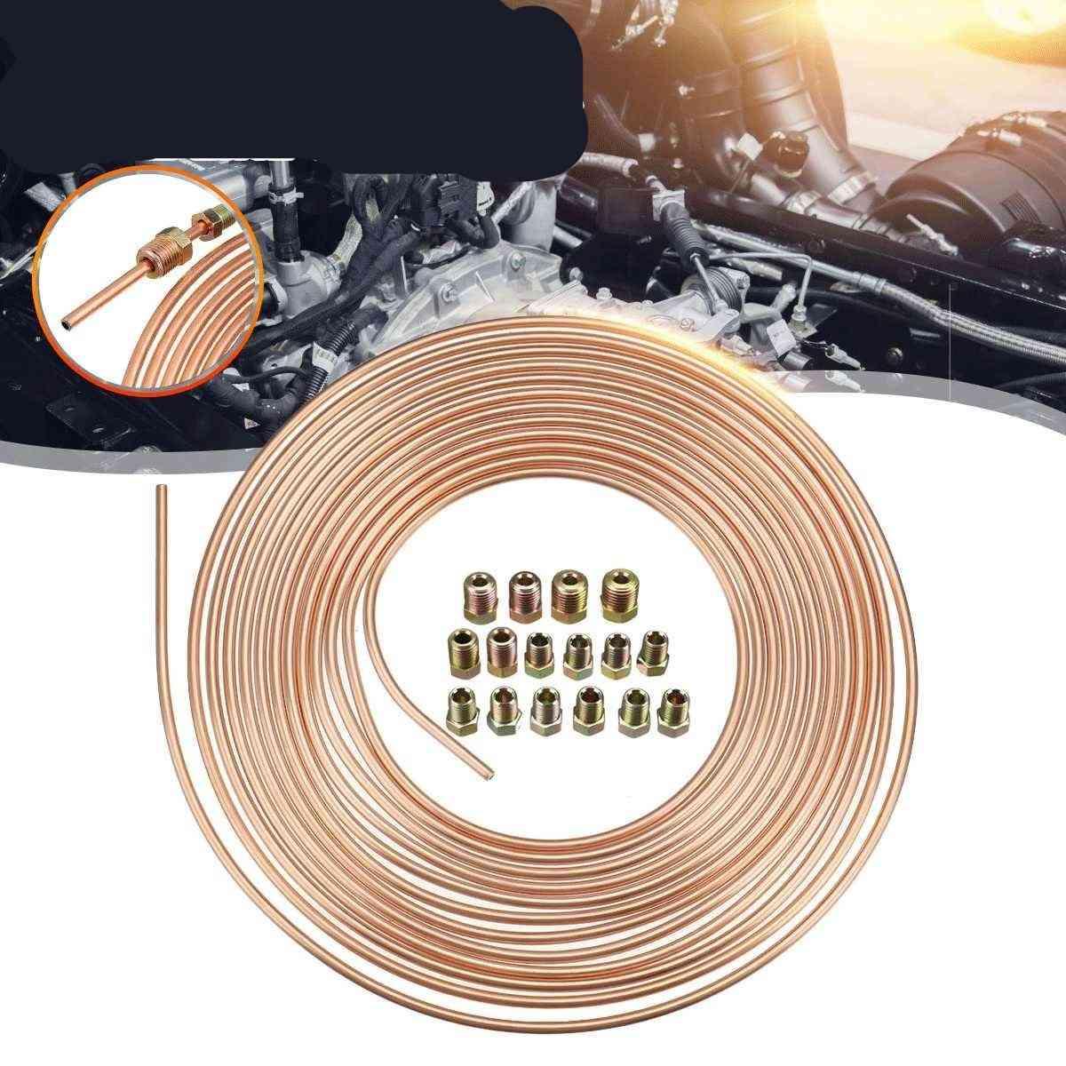 Copper Nickel Brake Pipe Hose Line Piping Tube