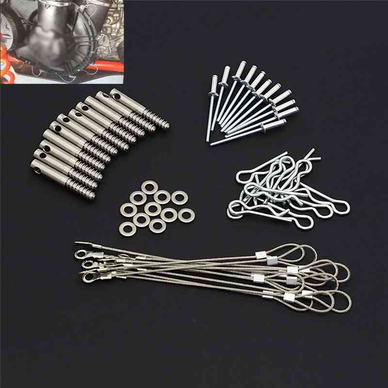 Stainless Steel Clutch Cover Pin Kit, Quick Release Tool