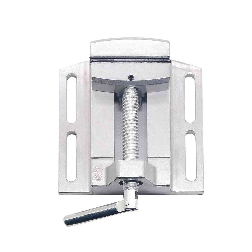 Mini Precision Multifunctional Working Table Drill Milling Machine Stent, Parallel-jaw Vice
