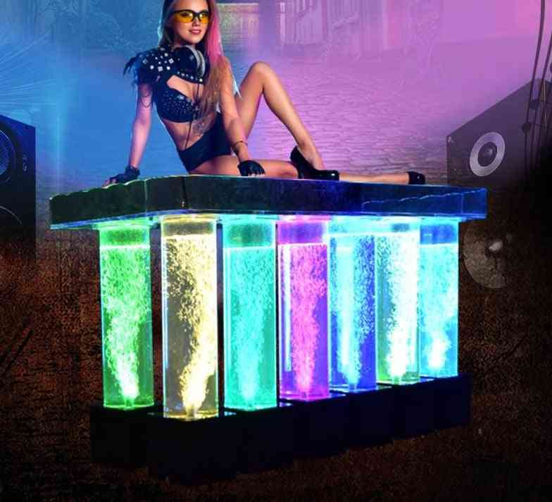 Aklike Dj Light With Lights Led Acrylic Dj Table Bar