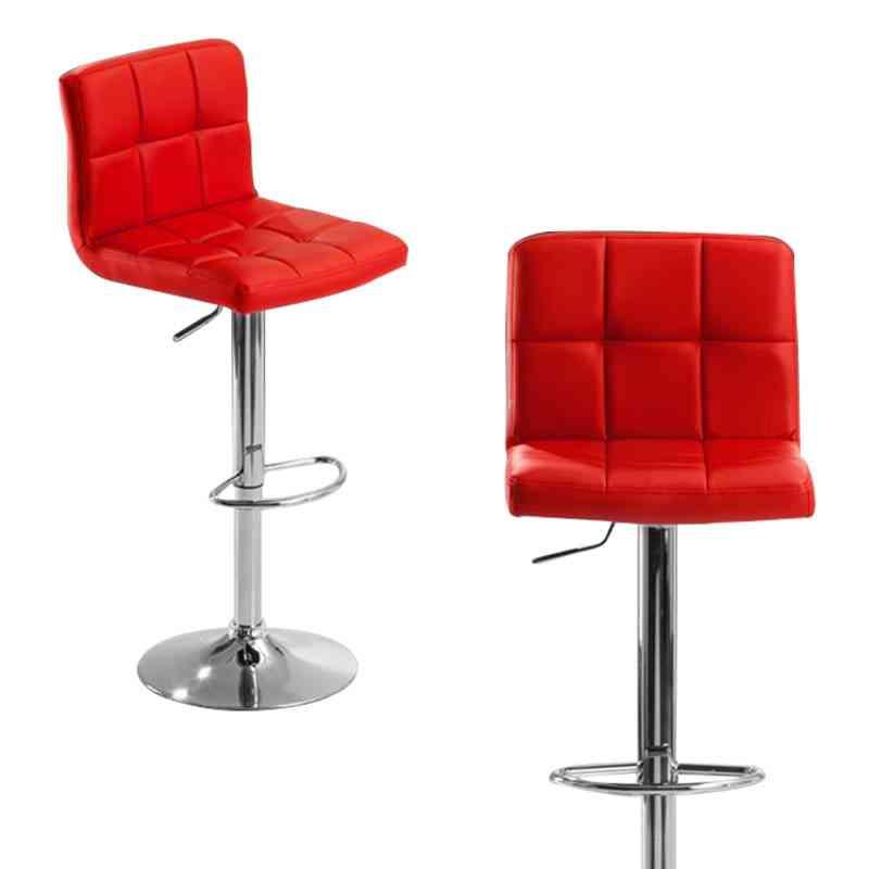 Modern Fashion Bar Chair, Soft Pu Leather Barstool Chairs
