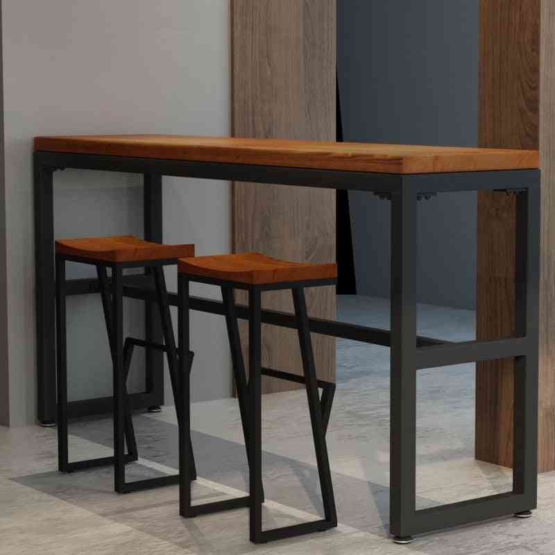 High Stool Leisure Bar Chair, Front Coffee Chairs