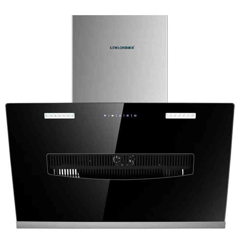 Range Hood Side Suction Wall-mounted Remove Oily Smoke Small Home Stainless Steel Touch Kitchen Purification Appliances