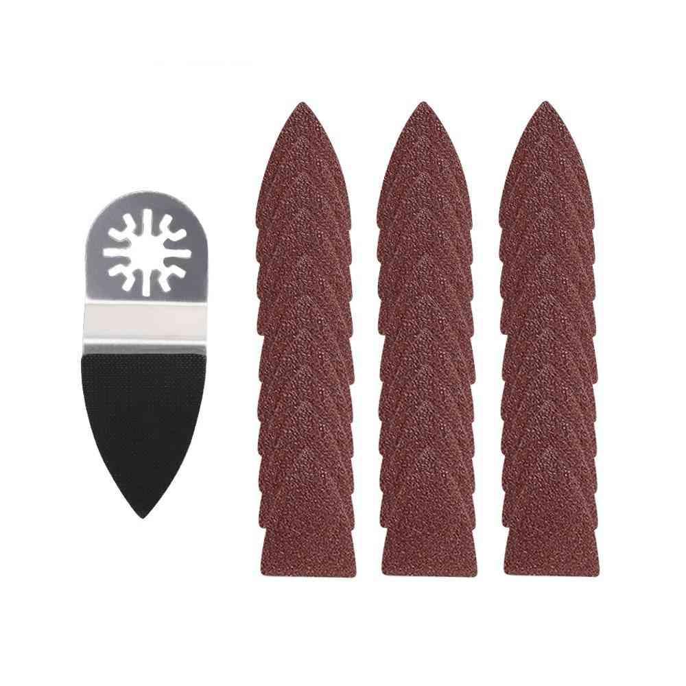 Oscillating Sandpaper Finger/triangle Sanding Pad For Fein Dremel Power Tool