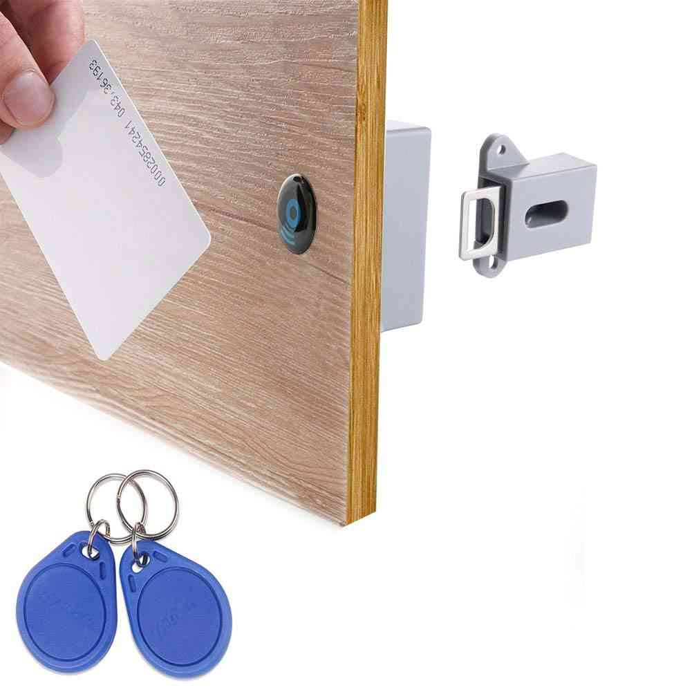 Hidden Rfid Free-opening, Intelligent Sensor Lock For Shoe Cabinet, Drawer