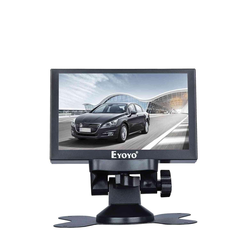 Ips Hdmi- Display Lcd Mini Screen, Support Vga/ Bnc/ Av Usb With Remote Control
