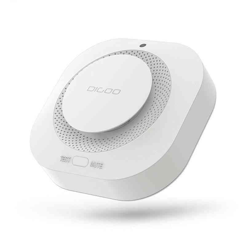 Smoke Alarm Detector, Independent Photoelectric Sensor, Remote Alert