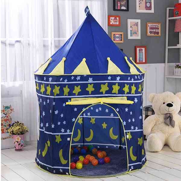 Portable Play Kids Tent Indoor Outdoor Ocean Ball Pool Folding Cubby Toy