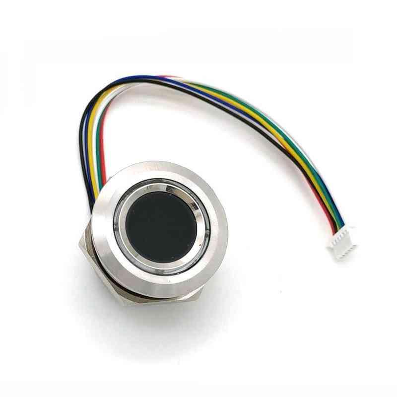 Circular Round, Two-color Ring, Indicator Led Control, Fingerprint Sensor, Scanner Module