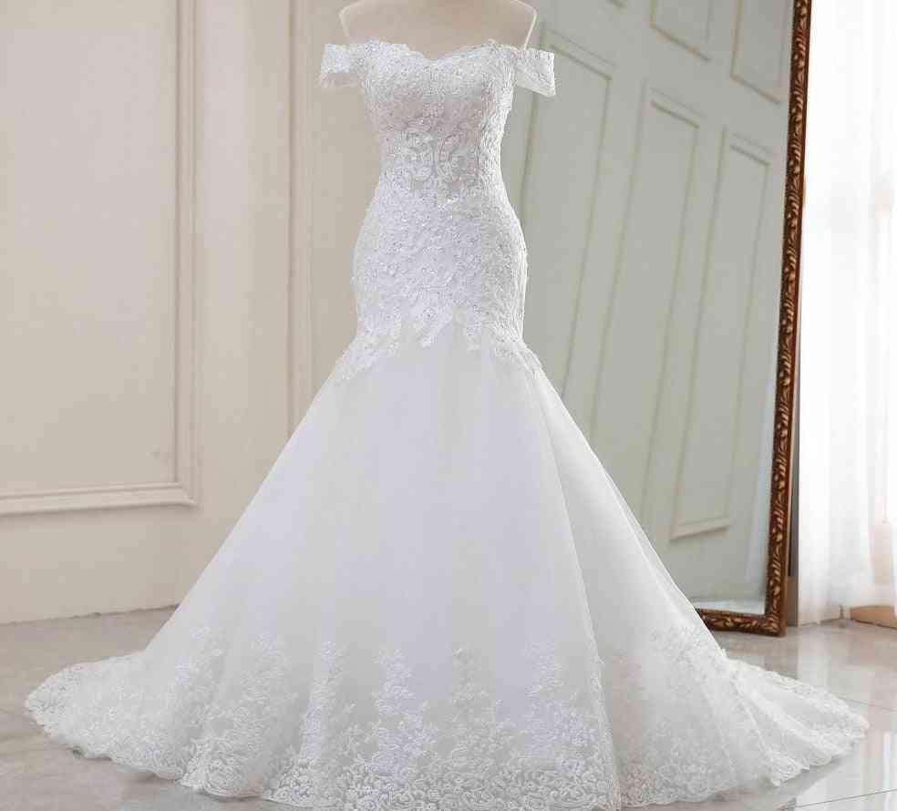 Luxury Style, Mermaid Wedding, Robe Dress