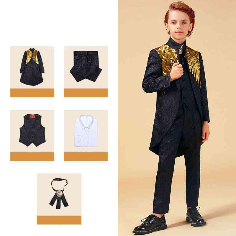 Gold Sequins Suit