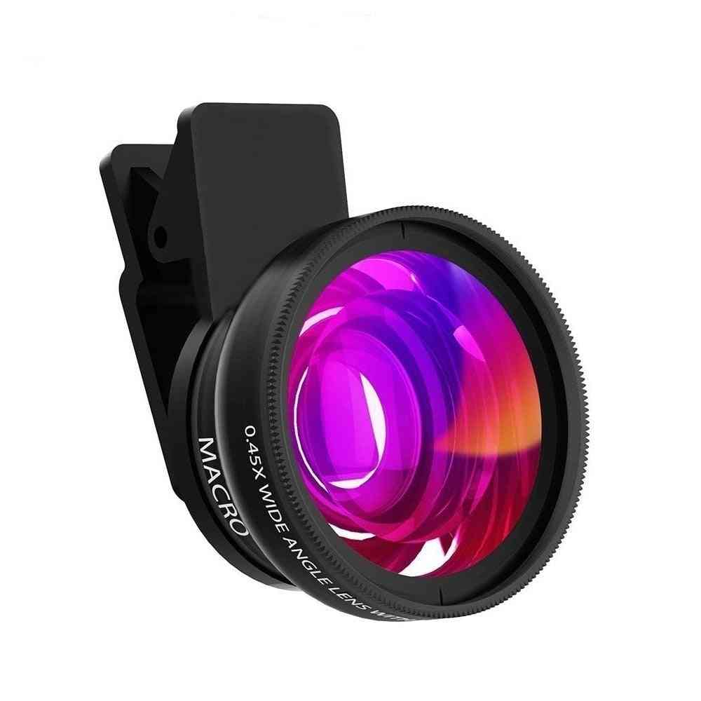 Super Wide Angle Macro Hd Camera Lens For Mobile Phone