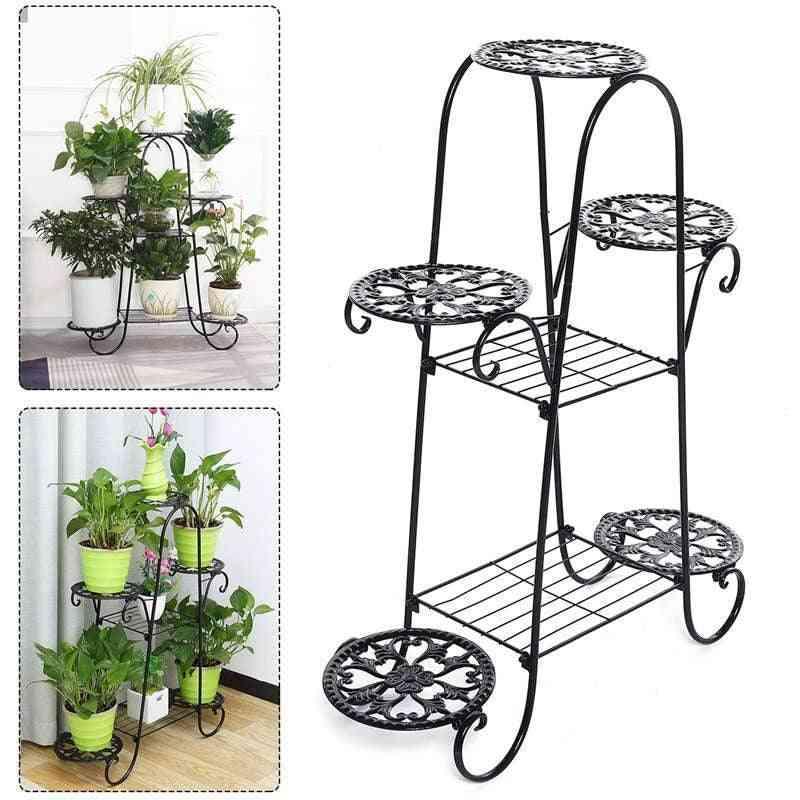 7 Layers Flower Stand Rack Indoor Multi-story, 62*22*84cm  Flower Pot Shelves