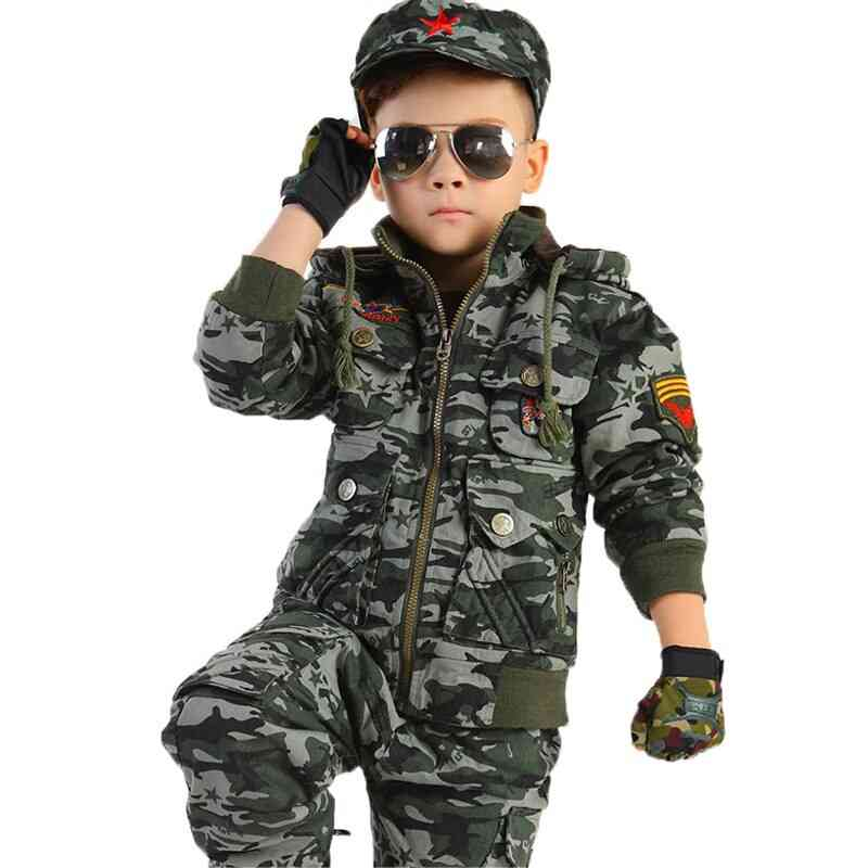 Camouflage Costumes Primary Secondary School Student Uniforms Dance Clothes Military