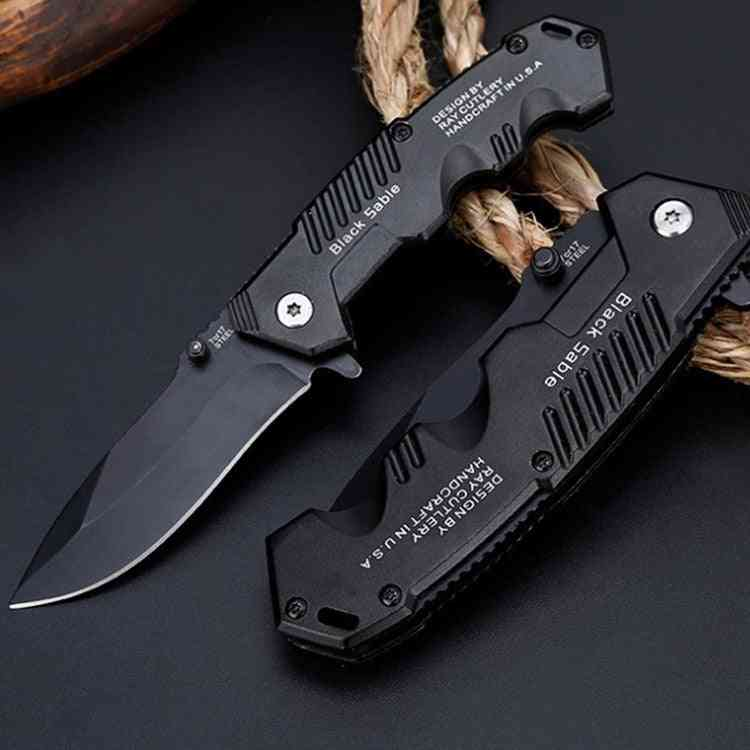 Folding Tactical Survival, Knives Blade For Hunting, Camping