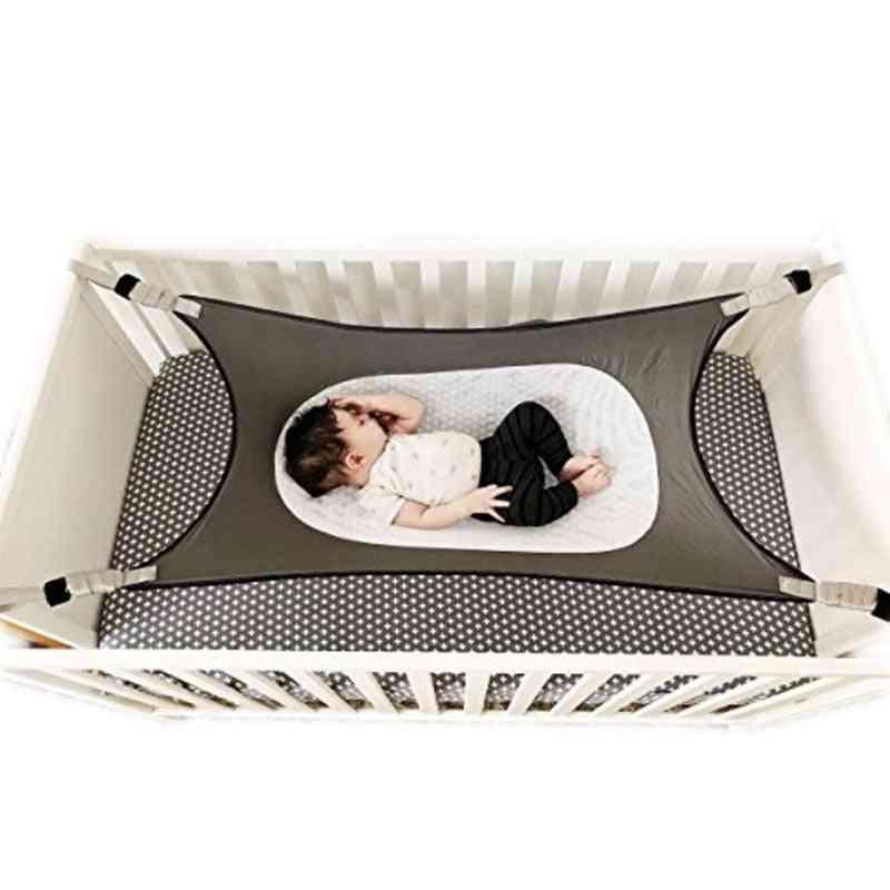Adjustable Net Portable-  Cot Crib Elastic Swing, Sleeping Bed For Baby