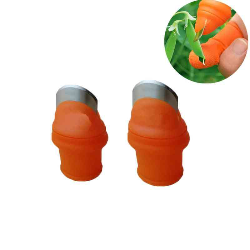 Silicone Finger Protector Protective Gears Safe Tool For Garden Work
