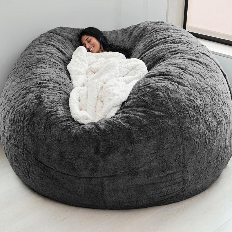 Big Round Giant Bean Bag Cover