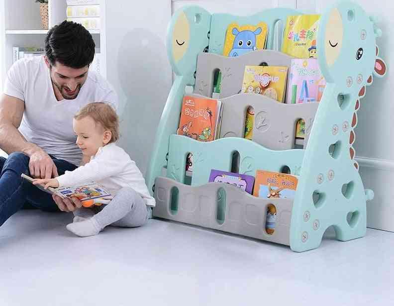 Children's  Simple Plastic Cartoon Picture, Bookcases Bookshelf
