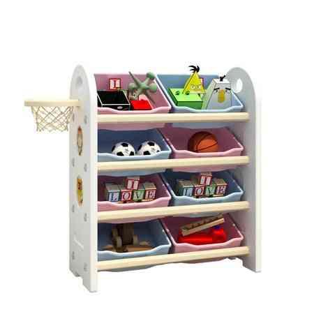 Children Cabinet Furniture Toy Shelf