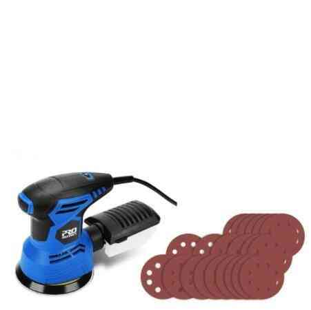 Electric Wood, Orbital Sander With 7-variable Speed, Polisher Machine