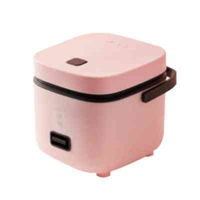 Mini Electric Rice Cooker, 2 Layers Heating Food Steamer