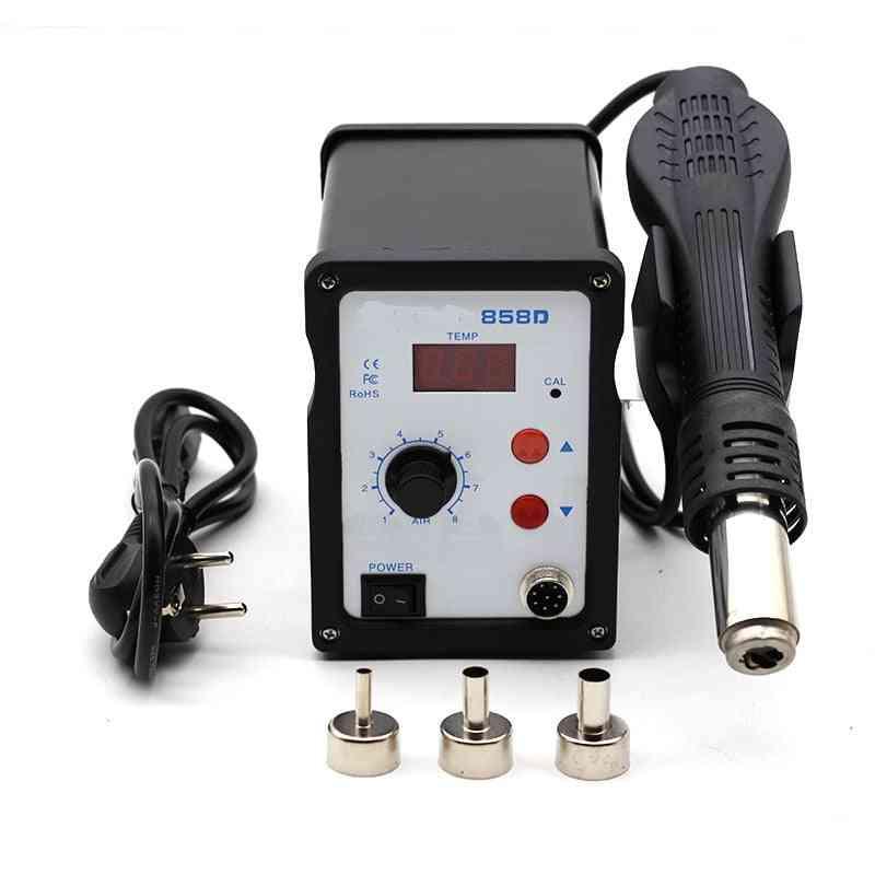 Hot Air Heat Gun- Rework Soldering Station, Blower Hair Dryer