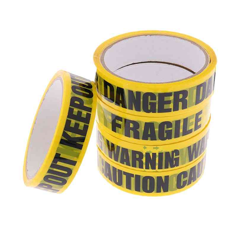 1 Roll Danger Caution Barrier Remind Work Safety Adhesive Tape
