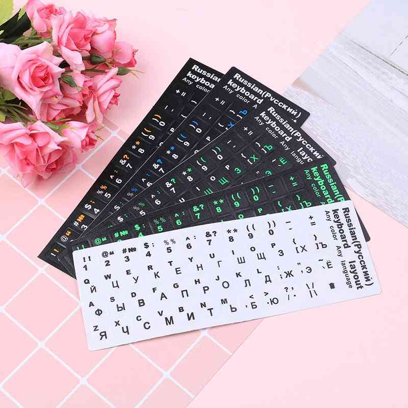 Russian Standard Keyboard Layout Sticker