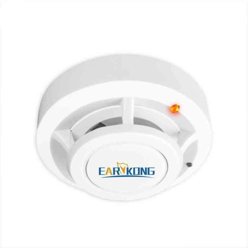 Smoke Detector Wireless Sensor, Highly-sensitive Alarm